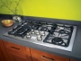 "Kenmore Pro 36"" Gas Drop In Cooktop Stainless steel"