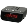 Clock Radio Alarm Snooze CR-55 Mains Electric WHITE