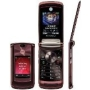 Motorola RAZR2 Mahogany Red V9 GSM unlocked quad-band HSDPA flip phone