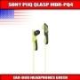 Sony MDRPQ4/GRN PIIQ Headphones