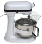 KitchenAid KP2671XWH Professional 6-Quart Stand Mixer, White