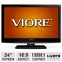 Viore 24 Class LCD HDTV/DVD Combo - 1080p, 1920 x 1080, 16:9, 60Hz, 10000:1, 5 ms, HDMI, VGA (Refurbished)