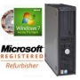Dell OptiPlex GX Desktop PC, P4 2.80GHz with HT Technology, 1GB Ram, DVD-Rom, Genuine Windows 7 Home Premium pre-installed (w/COA license and genuine