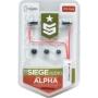 Siege Audio Alpha Stereo Ear Buds (Green)