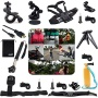 EEEKit 20-in-1 Professional Accessories Bundle Kit for Sony Action Cam HDR-AS15/AS20/AS30V/AS100V/Sony Action Cam HDR-AZ1 Mini Cameras, Adjustable Sho