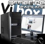 "VIBOX Basics Package 2 *** DEAL *** - Cheap, Home, Office, Family, Gaming PC, Multimedia, Desktop, PC, Computer, Full Package with 19"" Monitor, Speake"