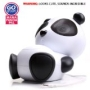 GOgroove Panda Pal Deluxe Portable Stereo Speaker System compatible with Amazon Kindle Fire! **Includes Micro USB Charge Cable