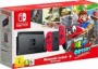 Nintendo Switch with Red Joy-Con & Super Mario Odyssey