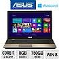 ASUS A75VJ-TH71 Laptop Computer - 3rd gen Intel Core i7-3630QM 2.4GHz, 8GB DDR3, 750GB HDD, DVDRW, 2GB NVIDIA GT 635M, 17.3 Display, Windows 8 64-bit,