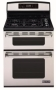 """Jenn-Air JDS8850AAS 30"""" Dual-Fuel Slide-In Range w/ Two Speed Convection, 4 Sealed Burners & Electric Oven: Stainless Steel"""