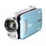 Sanyo VPC-GH1EXBL-B Xacti GH1 Full HD Dual Camcorder with 14M Photos and HDMI - Blue