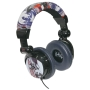 iHip MVF10264CA Marvel Captain America Extreme DJ Headphone, Multi-Color