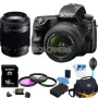 Sony Alpha SLT-A37K 16.1 MP 16,000 ISO SLR Kit w/ 18-55, 75-300 Ultimate Bundle