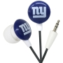 iHip NFL NY GIANTS Mini Ear Buds