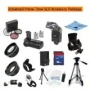 Advanced Prime Time Acessory Package for the Canon T1i (A.k.a 500d), Xs (A.k.a 1000d), Xsi (A.k.a 450d) Digital Slr Cameras Kit Includes 16gb High Spe
