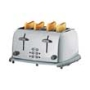 Cookworks Signature 4 Slice Stainless Steel Toaster.