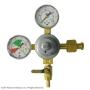 Double Gauge CO2 Regulator