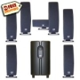 7.1 SLS Audio Surround Sound Speaker and Subwoofer Set
