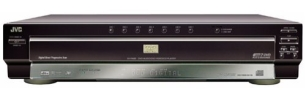 JVC XV-FA95BK Progressive-Scan 7-Disc DVD Player, Black