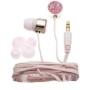 Nemo Digital NDF10111PK Crystal Peace Sign Earbud (Pink)
