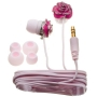 Nemo Digital NF35454-EPK Enamel Flower Earbud (Pink with Pink Wires)