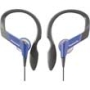 Panasonic Water Resistant Sports Clip Headphones - Purple