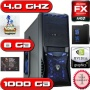 VERY FAST GAMING COMPUTER, AMD 3.6GHZ BULLDOZER II X4 FX 4100 CPU, 8GB DDR3 RAM, 1000GB HARD DRIVE, GPU GeForce: GTX 550 Ti DVD REWITER, WIFI.