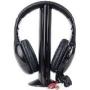 5-in-1 Hi-Fi S-XBS Wireless Headphones w/FM Radio