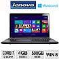 Lenovo Z580 59345242 Notebook PC - 3rd Gen. Intel Core i7-3520M 2.9GHz, 4GB DDR3, 500GB HDD, DVDRW, 15.6 Display, Windows 8 64-bit