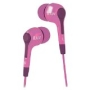 iLuv IEP222PNK Caf? Nites In-ear Earphones for iPod, iPhone, MP3 and CD players - Pink