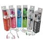 2 Pack Vibe Juicys Comforty MP3 Earbuds Stereo Headphones 3.5mm