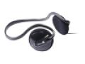 Clear Harmony Behind-The-Head Stereo Headphones - Black