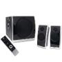 Logicool Z Cinema USB 3-Piece Surround Sound Speaker System (Black/Silver)
