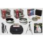 Opteka HD² Professional Digital Accessory Kit for Canon Powershot G10 Digital Camera