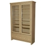 MONTANA - CD / DVD / Blu-ray / Video Media Storage Cabinet - Oak