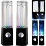 Premium Quality iSoul Dancing Water Led Light Fountain Jet Music Sound Speaker Speakers For PC, Mac, MP3 Players, Mobile Phones inc. iPhone 5 5c 5s 4