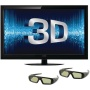 Coby 55-Inch 3D 1080p 120 Hz LED-LCD HDTV with Two Pairs of 3D Glasses