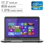 Toshiba Satellite S875 Laptop, Intel Core i7-3630QM 2.4 GHz