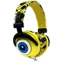 iHip SBF10276 Nickelodeon - SpongeBob DJ Style Headphones - Yellow/Black/Blue