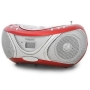 Marquant MPR-53 Portable CD Player Stereo System - Red