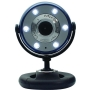 Gear Head WC1100BLU Webcam - Blue, Black