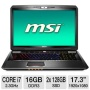 "MSI GT70 17.3"" Core i7 16GB RAM 3D Notebook"