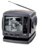 Portable TV with Am/Fm Radio ( 5 inch B&W Ac/Dc )