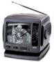 Portable TV with Am/Fm Radio ( 5 inch B&W Ac/Dc )