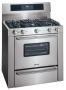 "Kenmore Elite 3.7 cu. ft. 36"" Self-Cleaning Gas Range Stainless steel"