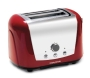 Morphy Richards 44266 Accents Red 2 Slice 2 Slot Polished Toaster