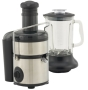 West Bend 7010 Stainless-Steel 800-Watt Juice Extractor with Blender Attachment