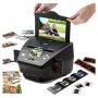 """SVP 3-in-1 Digital Scanner Photo+Films+Slides Scanner 22MP w/ Preview 2.4"""" LCD"""