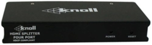 Knoll Systems HDMI-DA4 1 Input 4 Output HDMI Distribution Amplifier