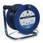Masterplug Cable Reel LDCT2513/4R-MP 25 m 4-Socket 13 amp Open Cable Reel